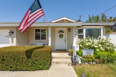 4047 N Meadowbrook Street, Orange, CA 92865 - MLS#: PW21139999