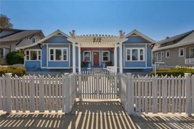 212 E Olive Street, Corona, CA 92879 - MLS#: PW21157366
