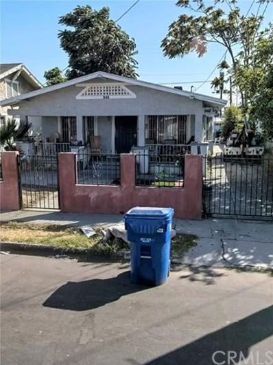 242 W 58th Street, Los Angeles, CA 90037 - MLS#: PW21172116