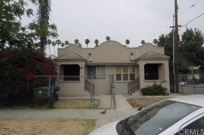 1015 W 57th Street, Los Angeles, CA 90037 - MLS#: RS17212892