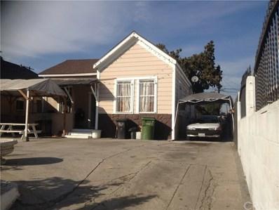 1615 E 53rd Street, Los Angeles, CA 90011 - MLS#: RS18017898
