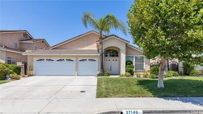 37149 Wild Rose Lane, Murrieta, CA 92562 - MLS#: RS18188950
