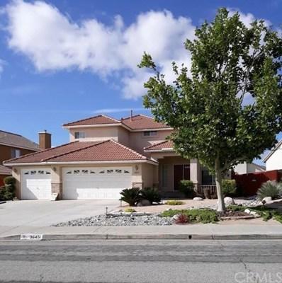 36451 Blacksmith Drive, Palmdale, CA 93550 - MLS#: RS19110645