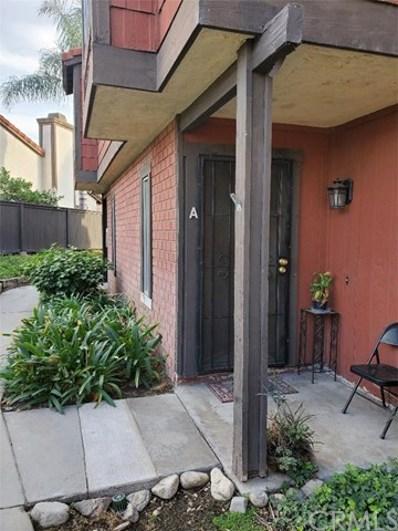 1850 N Vineyard Avenue UNIT A, Ontario, CA 91764 - MLS#: RS19267647