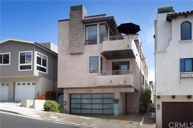 204 21st Street, Manhattan Beach, CA 90266 - MLS#: SB17096541