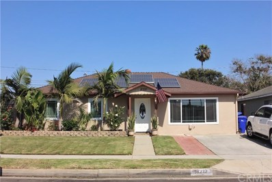 18212 Crocker Avenue, Carson, CA 90746 - MLS#: SB17181548