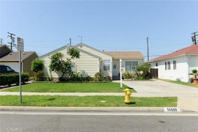 14509 Wadkins Avenue, Gardena, CA 90249 - MLS#: SB17204581