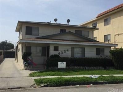 4334 W 130th Street, Hawthorne, CA 90250 - MLS#: SB17214878