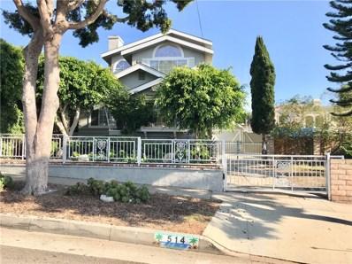 514 Agate Street, Redondo Beach, CA 90277 - MLS#: SB17235582