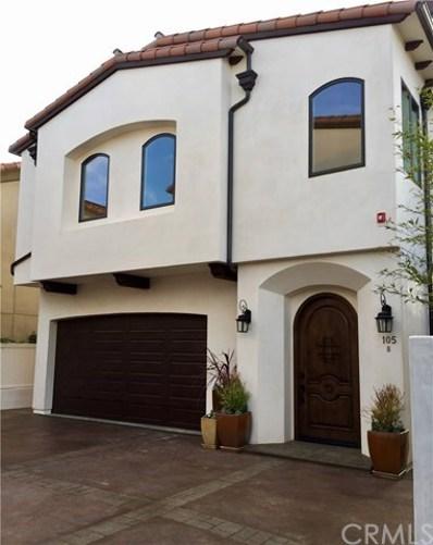 105 S Juanita Avenue UNIT B, Redondo Beach, CA 90277 - MLS#: SB17253234