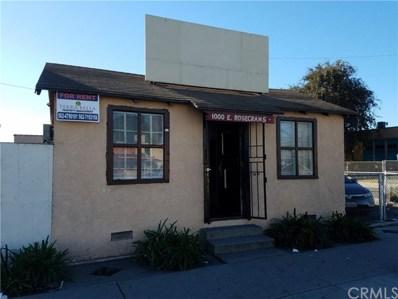 1000 E Rosecrans Avenue, Compton, CA 90221 - MLS#: SB17272914