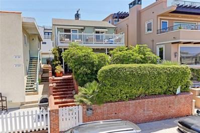 2722 Hermosa Avenue, Hermosa Beach, CA 90254 - MLS#: SB17280753