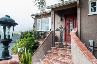 1113 S Dodson Avenue, San Pedro, CA 90732 - MLS#: SB18001966
