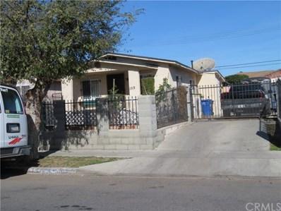159 E 109th Street, Los Angeles, CA 90061 - MLS#: SB18017080