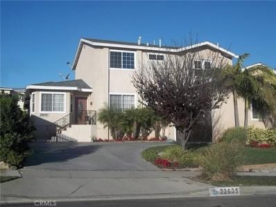 22635 Draille Drive, Torrance, CA 90505 - MLS#: SB18018471