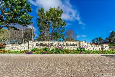 34 Horseshoe Lane, Rolling Hills Estates, CA 90274 - MLS#: SB18061448