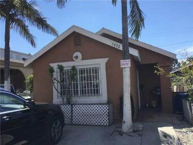 1772 E 105th Street, Los Angeles, CA 90002 - MLS#: SB18063534