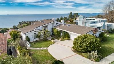 30011 Via Victoria, Rancho Palos Verdes, CA 90275 - MLS#: SB18069207