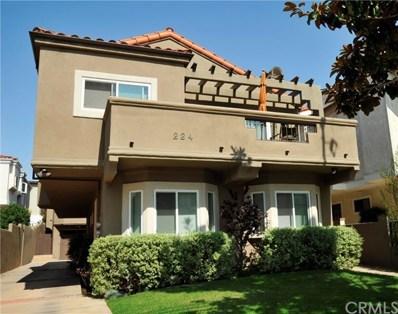 224 N Irena Avenue UNIT B, Redondo Beach, CA 90277 - MLS#: SB18079908
