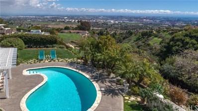 2618 Sunnyside Ridge Road, Rancho Palos Verdes, CA 90275 - MLS#: SB18080340