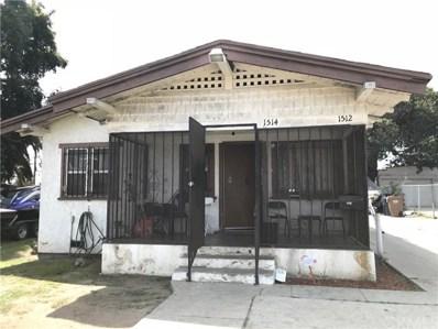 1512 W 103rd Street, Los Angeles, CA 90047 - MLS#: SB18087063