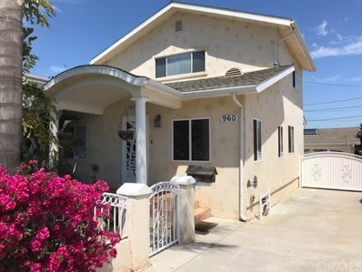 960 W 25th Street, San Pedro, CA 90731 - MLS#: SB18093824
