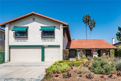30358 Camino Porvenir, Rancho Palos Verdes, CA 90275 - MLS#: SB18099976