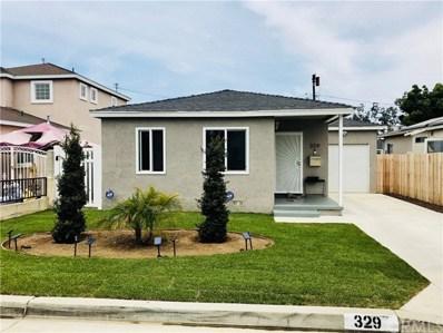329 W Clarion Drive, Carson, CA 90745 - MLS#: SB18132299