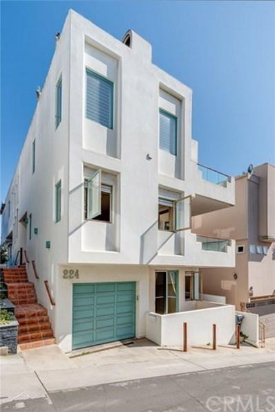 224 28th Place, Manhattan Beach, CA 90266 - MLS#: SB18137037