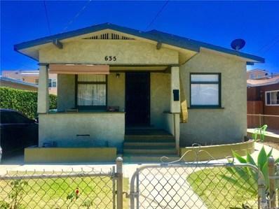635 W 3rd Street, San Pedro, CA 90731 - MLS#: SB18139146
