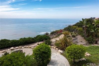1109 W Palos Verdes Drive W, Palos Verdes Estates, CA 90274 - MLS#: SB18141275