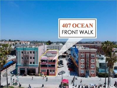 407 Ocean Front Walk, Venice, CA 90291 - MLS#: SB18168168