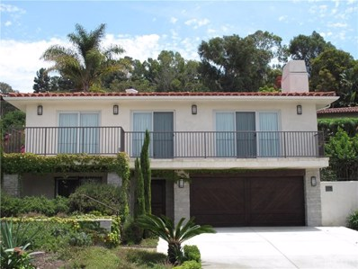2508 Via Pinale, Palos Verdes Estates, CA 90274 - MLS#: SB18175134