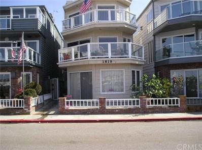 1819 W Bay Avenue UNIT A, Newport Beach, CA 92663 - MLS#: SB18181867