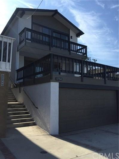 1751 Wollacott Street, Redondo Beach, CA 90278 - MLS#: SB18186898