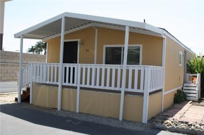 520 E Carson Street UNIT 43, Carson, CA 90745 - MLS#: SB18191297