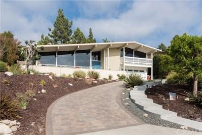 2624 Via Carrillo, Palos Verdes Estates, CA 90274 - MLS#: SB18206155