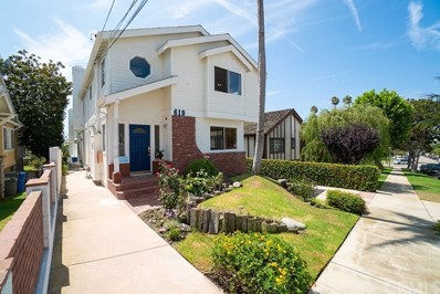 619 N Irena Avenue UNIT A, Redondo Beach, CA 90277 - MLS#: SB18207627