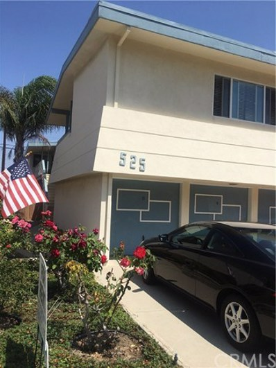 525 Avenue G UNIT E, Redondo Beach, CA 90277 - MLS#: SB18208305