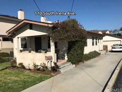 110 S Irena Avenue, Redondo Beach, CA 90277 - MLS#: SB18213852