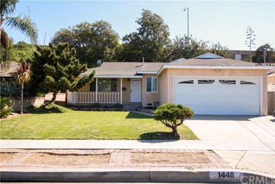 1448 W 187th Place, Gardena, CA 90248 - MLS#: SB18220218