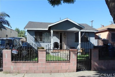 1263 E 87th Place, Los Angeles, CA 90002 - MLS#: SB18224846