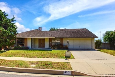 412 Calle Higuera, Camarillo, CA 93010 - MLS#: SB18227566