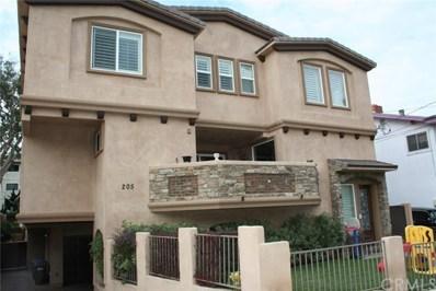 205 N Irena Avenue UNIT A, Redondo Beach, CA 90277 - MLS#: SB18231955