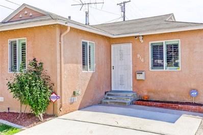 916 Belson Street, Torrance, CA 90502 - MLS#: SB18239363