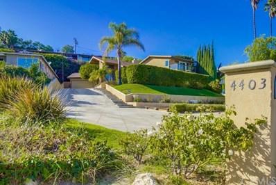 4403 Miraleste Drive, Rancho Palos Verdes, CA 90275 - MLS#: SB18244365