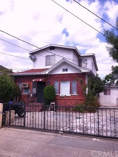 1561 W 23rd Street, Los Angeles, CA 90007 - MLS#: SB18251320