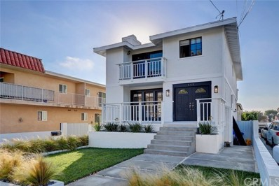 111 S Lucia Avenue UNIT 1, Redondo Beach, CA 90277 - MLS#: SB18257777