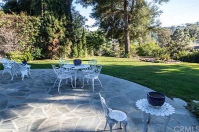 4016 Via Pavion, Palos Verdes Estates, CA 90274 - MLS#: SB18258134