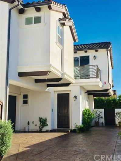 2214 Warfield Avenue UNIT B, Redondo Beach, CA 90278 - MLS#: SB18258993